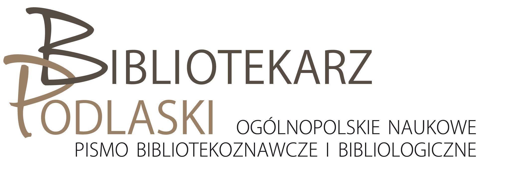 """Regulamin funkcjonowania """"Bibliotekarza Podlaskiego"""